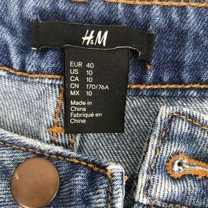 H&M Shorts - H&M distressed high waisted jean shorts Sz 10